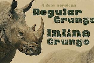 Thumbnail for Rhino - Display Font