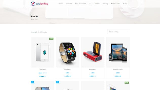 App Promotion   One Page App Promotion Theme - product preview 1
