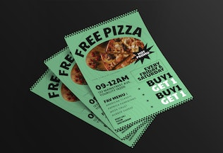 Pizza Delivery Flyer Pack