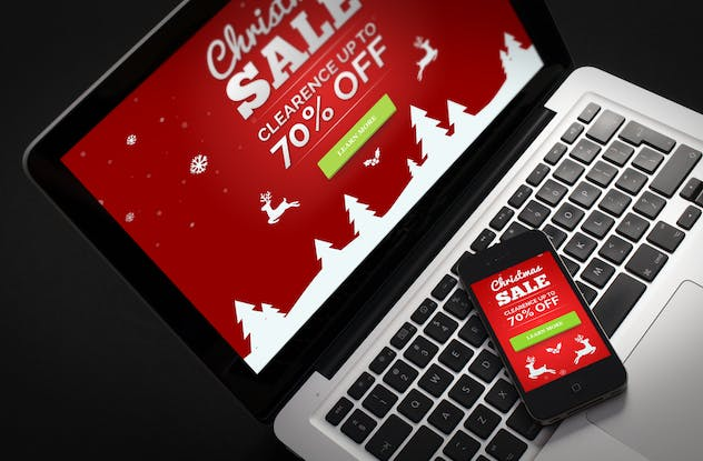 XMuse - Christmas Sale / Promo Muse Template - product preview 4