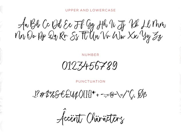 Almonade YH - Handwritten Font - product preview 5