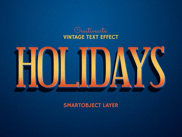 Vintage Retro Text Effects - product preview 10