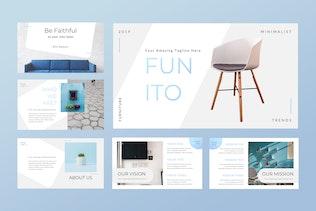 Funito - Furniture Keynote Presentation