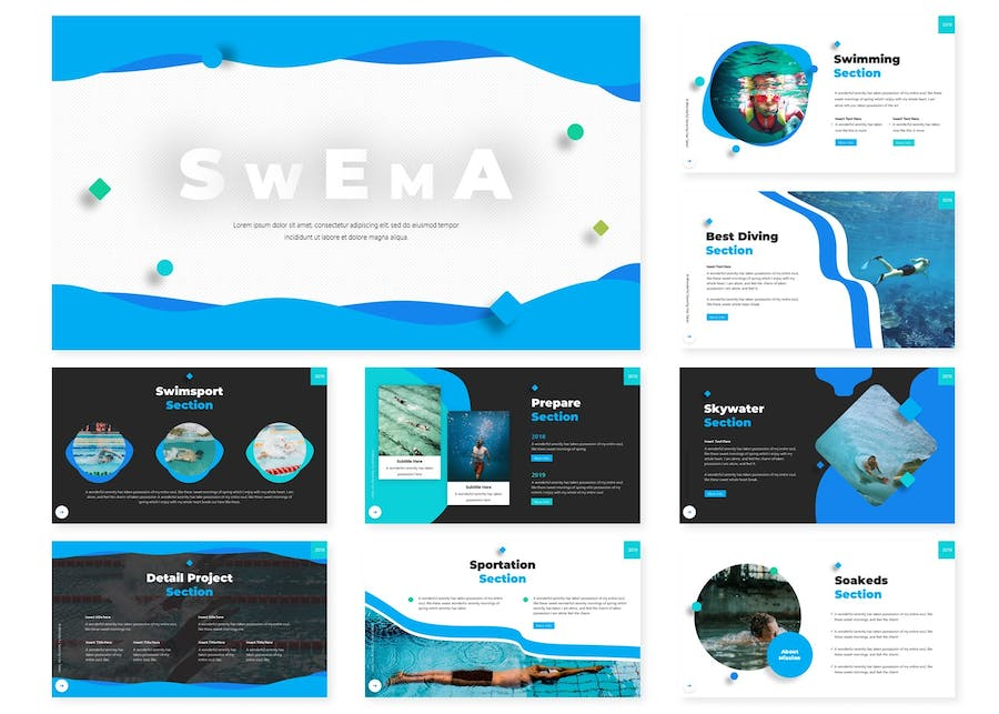 Swema | Keynote Template - product preview 1