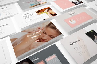 Thumbnail for Beauty Spa Powerpoint Template