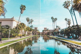 Thumbnail for Cali Blogger Mobile & Desktop Lightroom Presets