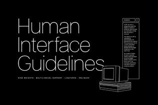 Thumbnail for Articulat CF   modernist sans-serif font family