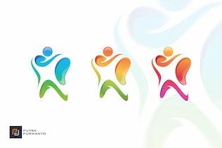 Thumbnail for Human Dental - Logo Template