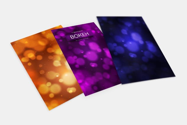 Bokeh Abstract Backgrounds - product preview 2