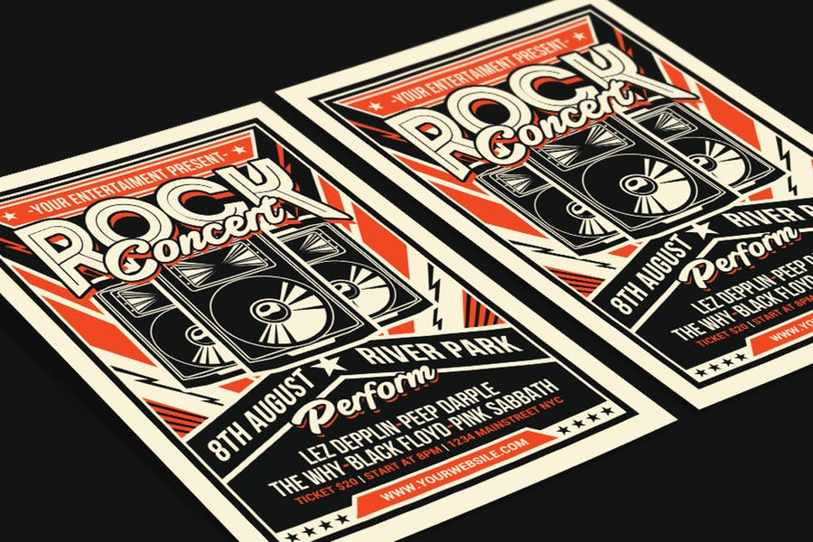 Retro Rock Concert - product preview 2