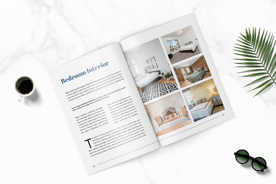 Lisa - Furniture Magazine Template - product preview 2