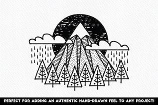 Thumbnail for Fine Liner Brushes & Patterns