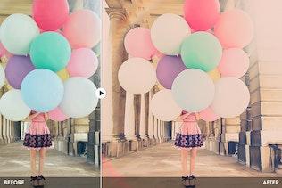 Pastel Colors - 20 Photoshop Presets