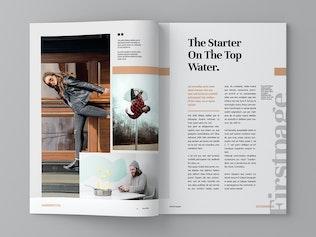 Thumbnail for Magazin - Magazine Template