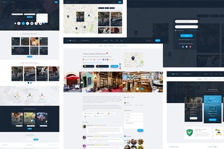 Thumbnail for Explore City - Directory Listing PSD Template