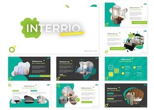 Миниатюра для Interio | Шаблон Powerpoint