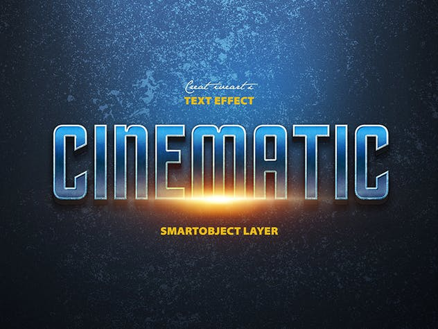 Cinematic 3D Text - product preview 5
