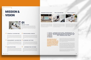 Thumbnail for Business Brochure Layout