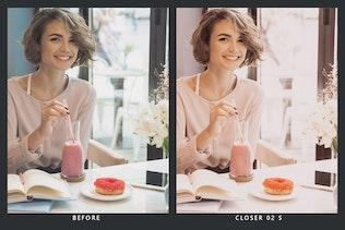 Миниатюра для 20 розовых пресетов Macaroon Lightroom и LUT