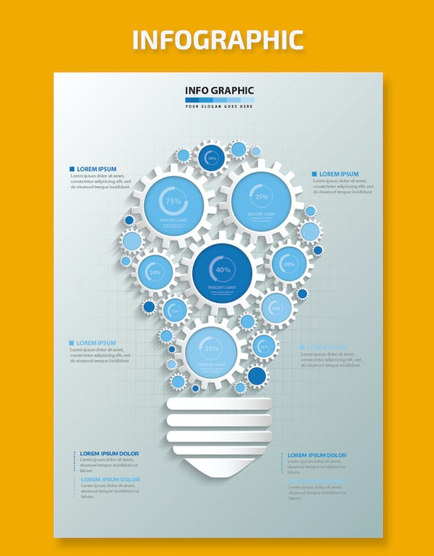 Idea Infographic Design - product preview 1
