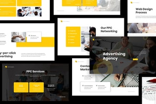 Thumbnail for Advertising Agency Keynote Presentation