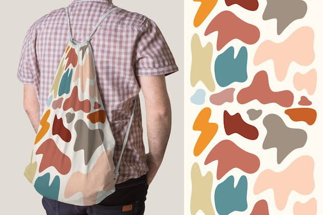 Abstract Shape Retro Patterns - product preview 5