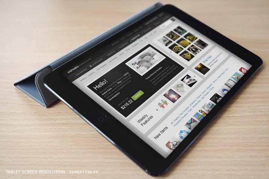 Preview image 3 for Maqueta de Tablet Pad