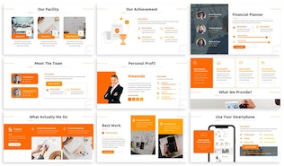 Finplan - Financial Planner Keynote Template