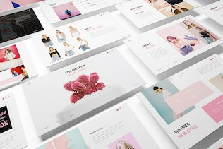 Thumbnail for Tullsta Lookbook Powerpoint Template