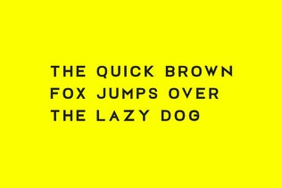 Thumbnail for FOSLIN - Minimal Sans-Serif / Display Typeface
