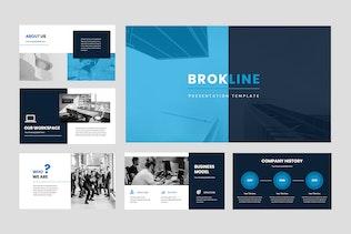 Brokline - Business Keynote Presentation
