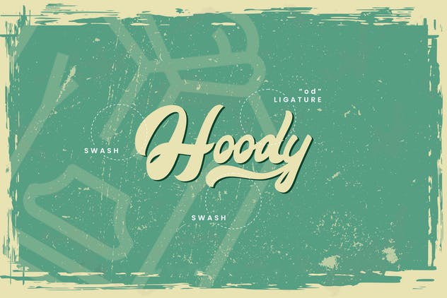 Maimoonde - Modern Vintage Typeface Font - product preview 10