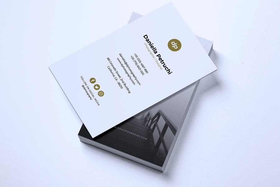 Minimalist Business Card Vol. 43 - product preview 2