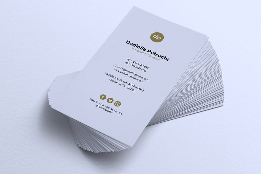 Minimalist Business Card Vol. 43 - product preview 1