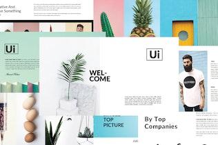 Thumbnail for Ui Business Minimal | Keynote Templates