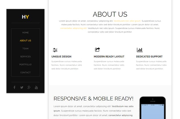 Hy - Creative Muse Template - product preview 1