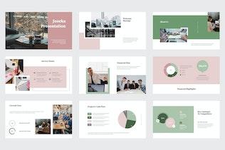 Jozeka - Инвестор Pitch палубы Google слайды