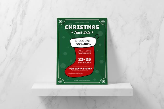 Christmas Shock Flyer - product preview 1