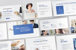 Thumbnail für Geschäftsentwicklung - Powerpoint V389