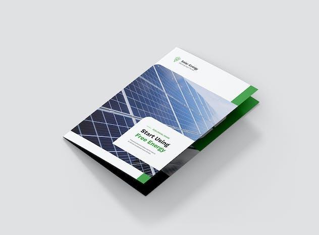 Brochure – Solar Energy Bi-Fold - product preview 2