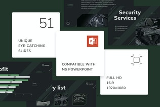 Thumbnail for Security Guard Services PowerPoint Presentation