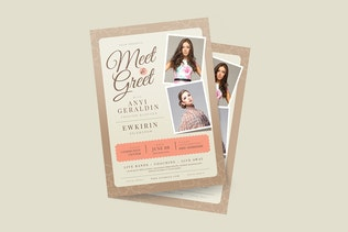 Thumbnail for Meet & Greet Flyer