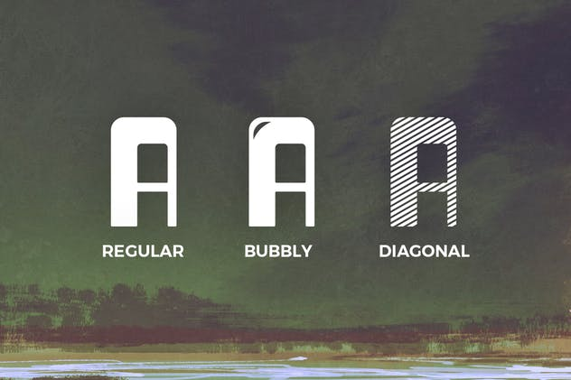 Dagon Typeface - product preview 2