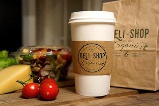 Thumbnail for Food Coffee Mockup