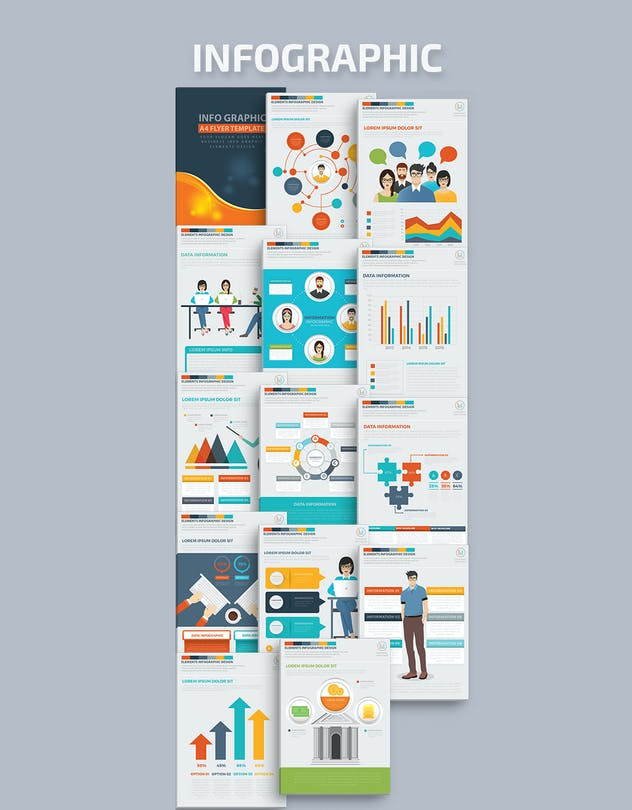 Infographics Template Design - product preview 5
