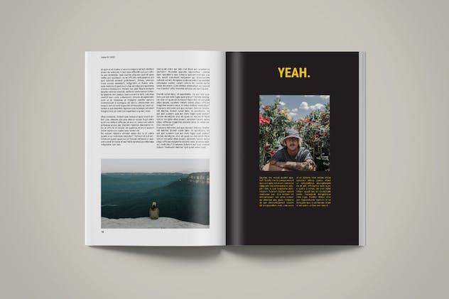 Magazine Template | Petrichor - product preview 4