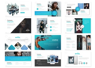 Thumbnail for Motion - Keynote Template