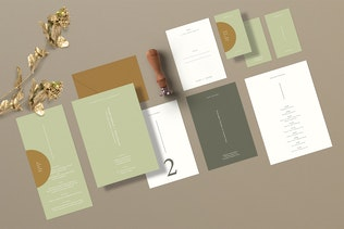 Thumbnail for Danielle Wedding Suite - InDesign Template
