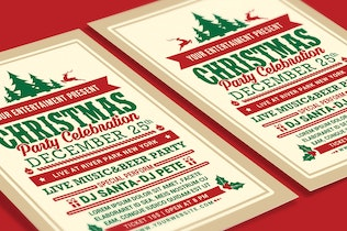 Thumbnail for Christmas Party Celebration Flyer