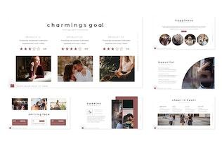 Thumbnail for Charming -  Google Slides Template